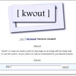 スクリーンキャプチャ Kwoout