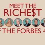 米経済誌フォーブズ、米国長者番付2014発表!