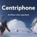 iPhone6をヒモでグルグルまわしながらのセルフィー、Centriphone撮影