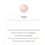 インスタグラムをMacのPCから投稿する方法 Macからインスタ映え!