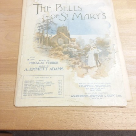Bells of St Mary's Sheet Music - Before