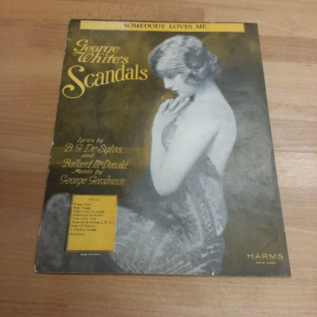 Scandals Sheet Music - before