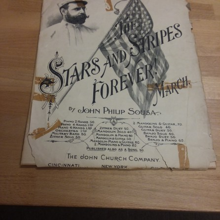 Stars & Stripes Sheet Music - Before