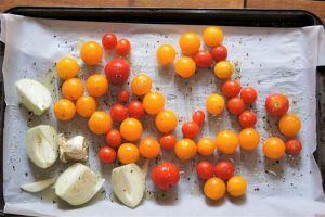 Cherry Tomatoes Onions Garlic