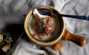 Cream of Potato and Thyme Soup