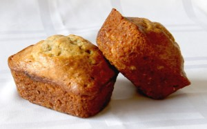 Sourdough Banana Mini Loaves