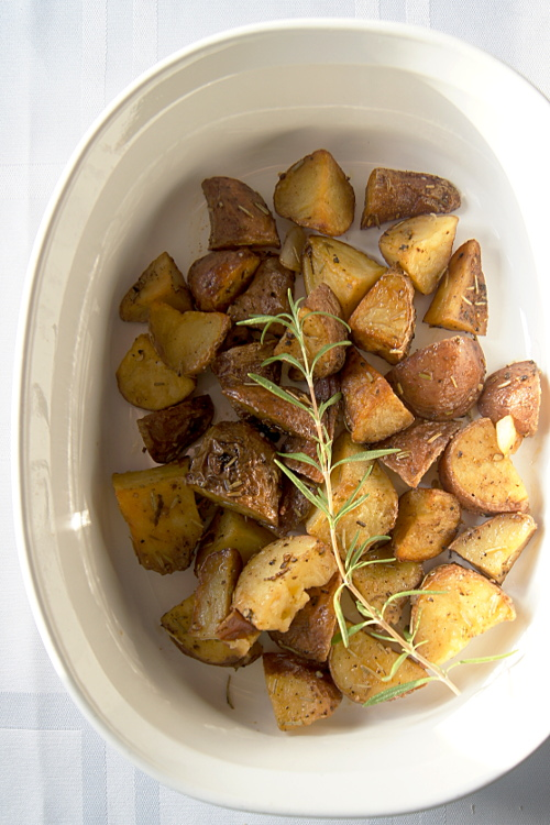 Rosemary Garlic Roasted Potatoes