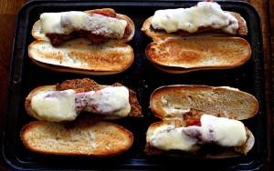 Pork Schnitzel Sandwich