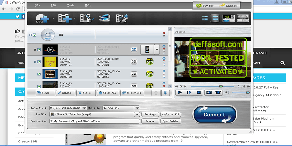 Tipard Video Converter Platinum Full Crack