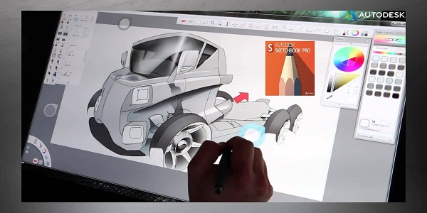 Autodesk SketchBook Pro For Enterprise 2018 Patch