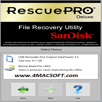 RescuePRO Deluxe 6.0.1.4 + Activation Code {Mac OS X}
