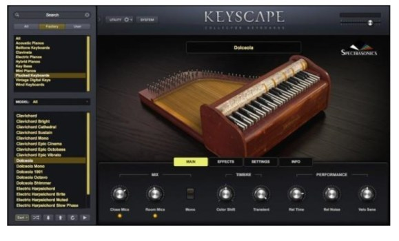 Spectrasonics Keyscape 1.1.2 for Mac full version