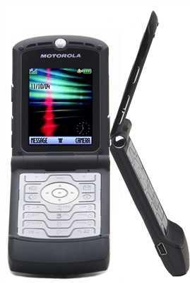 11158 MotImage - Motorola RAZR V3 Black