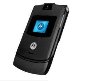 trequarti - Motorola RAZR V3 Black