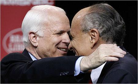 maccaingiuliani2022008 - Primarie USA: Obama e McCain ancora vincenti