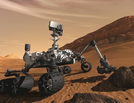 Curiositymarte28112012 - Curiosity: c'è vita su Marte?