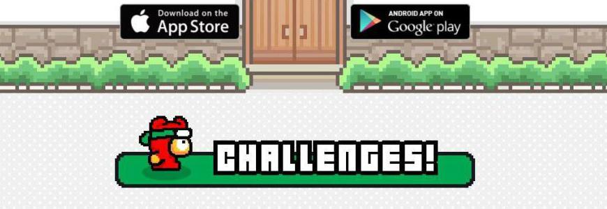 ninja spinki challenges - Ninja Spinki Challenges, arriva il nuovo gioco del creatore di Flappy Bird