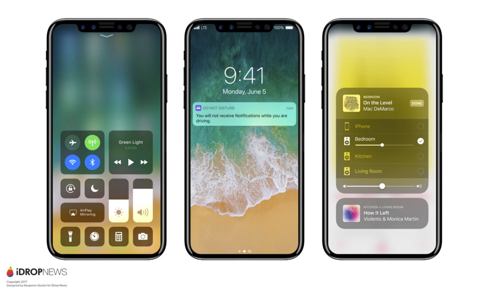 iPhone X Featured Image iDrop News - iPhone 8 riconoscimento facciale al posto del Touch ID