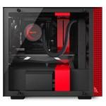 H200i Matte BlackRed Left Systeml - NZXT presenta la nuova Serie H dei suoi case per PC