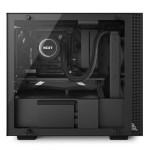 H200i Matte Black Left System - NZXT presenta la nuova Serie H dei suoi case per PC