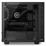 H400i Matte Black Left System - NZXT presenta la nuova Serie H dei suoi case per PC