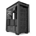 H700i Matte Black Front Fans - NZXT presenta la nuova Serie H dei suoi case per PC
