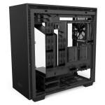 H700i Matte Black Right Open - NZXT presenta la nuova Serie H dei suoi case per PC