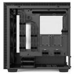 H700i Matte White Right Open Straight - NZXT presenta la nuova Serie H dei suoi case per PC
