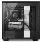 H700i Matte White Side System - NZXT presenta la nuova Serie H dei suoi case per PC