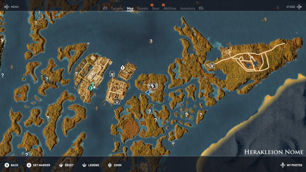 Hermit Herakleion 01 1024x576 - Guida Assassin's Creed Origins, dove trovare tutte le Statue di Tolomeo e gli Eremi nascosti