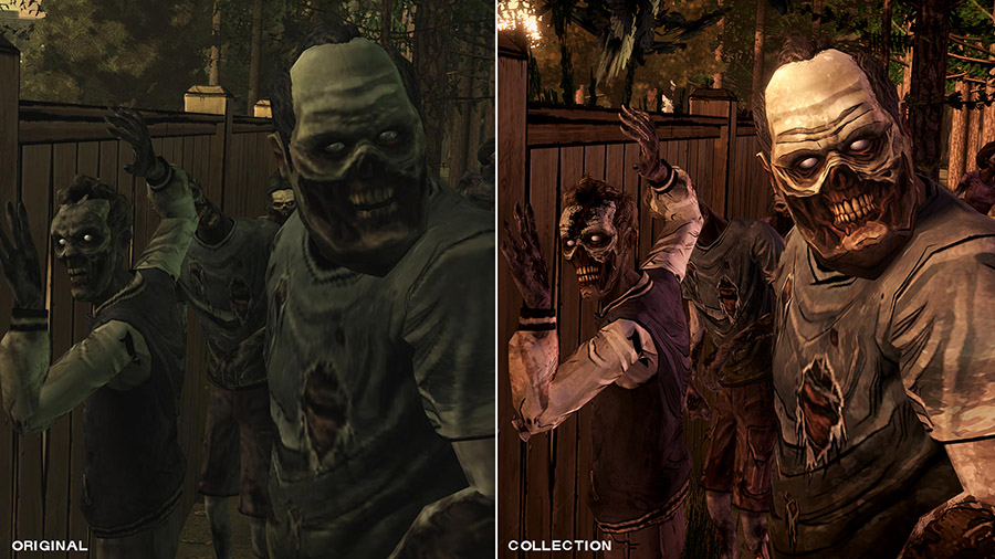 side by side walkers - Recensione The Walking Dead Collection - A Telltale Series