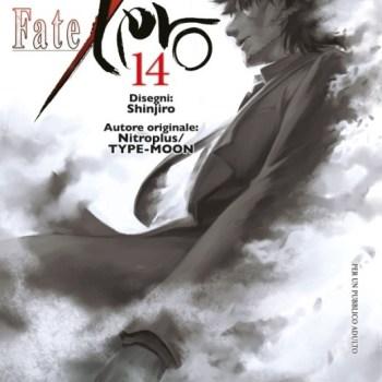 FATE STAY NIGHT 350x350 - Star Comics, il quattordicesimo e ultimo volume di FATE/ZERO sarà disponibile da domani