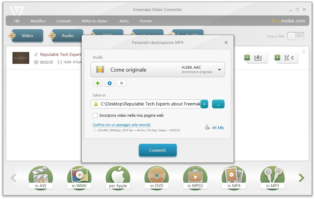freevideoconverter3 - Freemake Video Converter: uno strumento universale per la conversione video