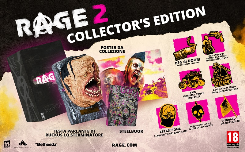 RAGE2 CollectorsEditionVanity EU it 1528476215 - E3 2018, Rage 2 si mostra alla conferenza Bethesda