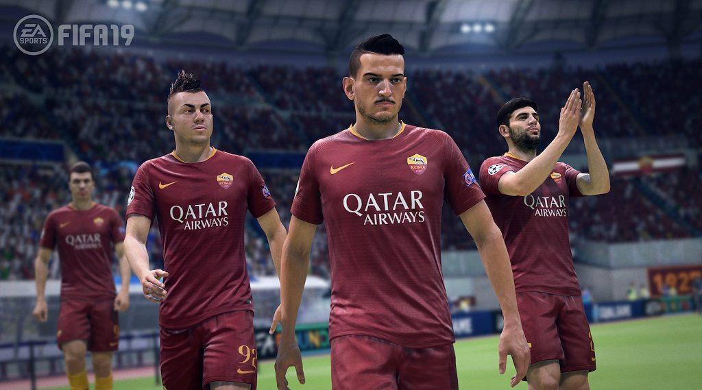 FIFA19 Roma screenshot 1024x569 - EA SPORTS e A.S. Roma hanno ufficializzato la partnership in FIFA 19