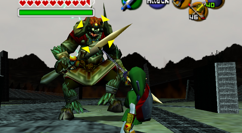 link ganon last - Back 2 The Past: parliamo di The Legend of Zelda: Ocarina of Time