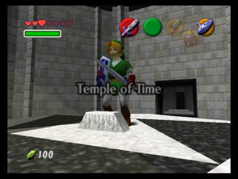 link master sword grown - Back 2 The Past: parliamo di The Legend of Zelda: Ocarina of Time