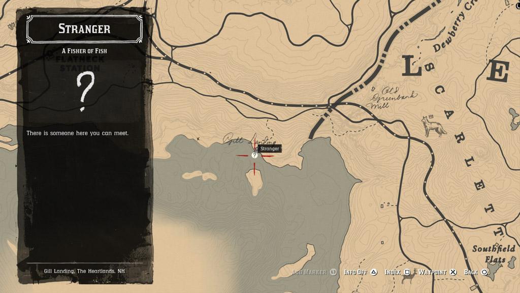 red dead redemption 2 gill location - Red Dead Redemption 2 - Guida ai pesci leggendari