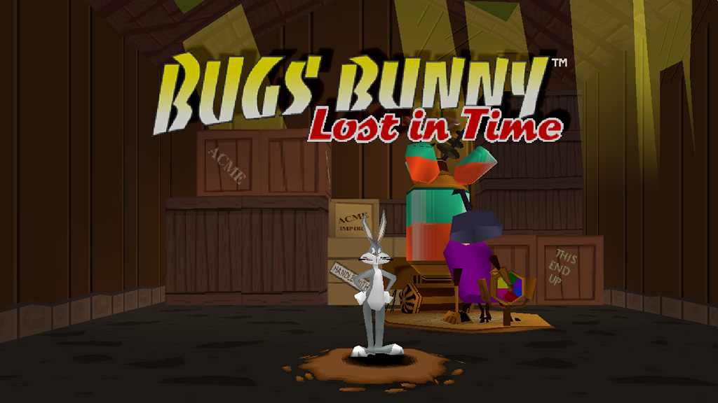 bugs bunny lost in time menu 1024x576 - Back 2 The Past - Bugs Bunny Lost in Time