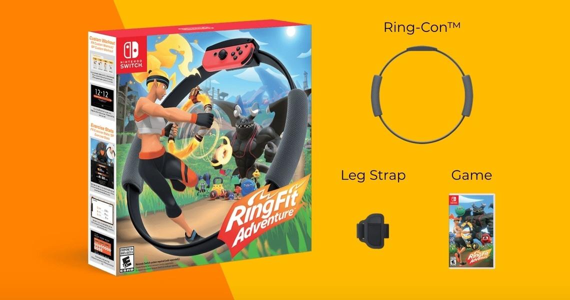 RingFit - Recensione della nuova esclusiva Switch, Ring Fit Adventure