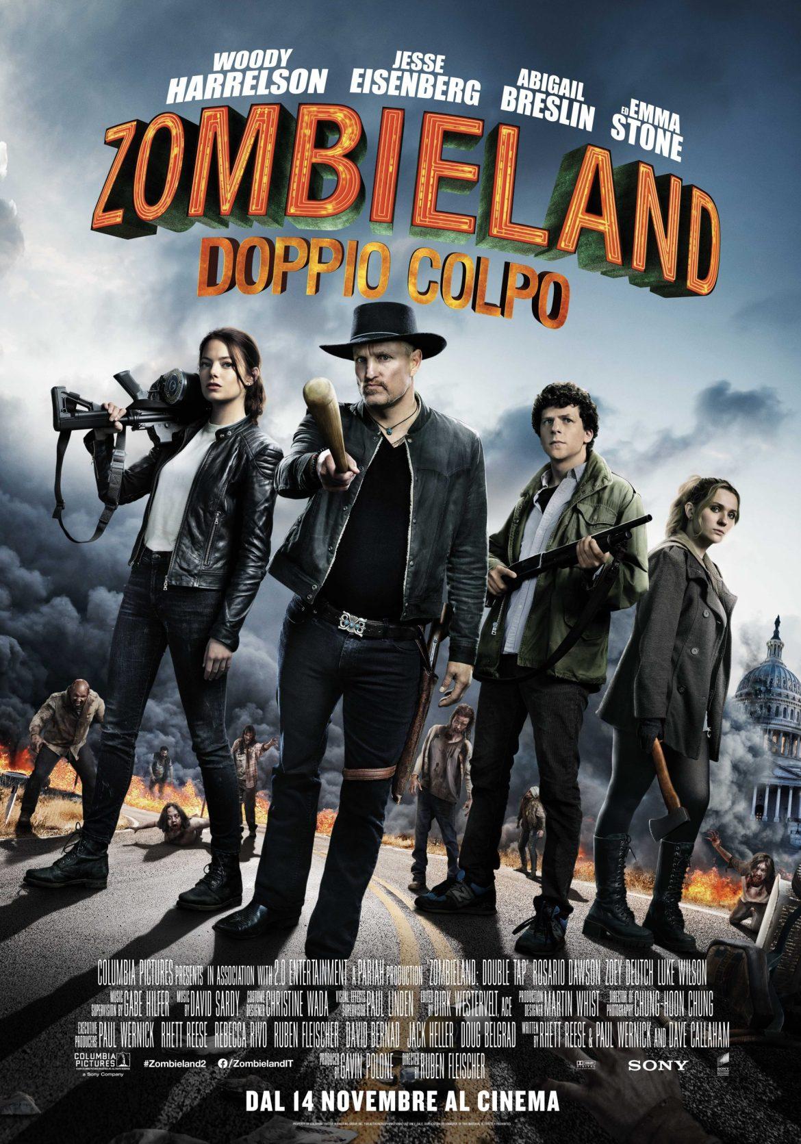 ZL2 onesheet FINAL DATA scaled - Zombieland: Doppio Colpo finalmente al cinema