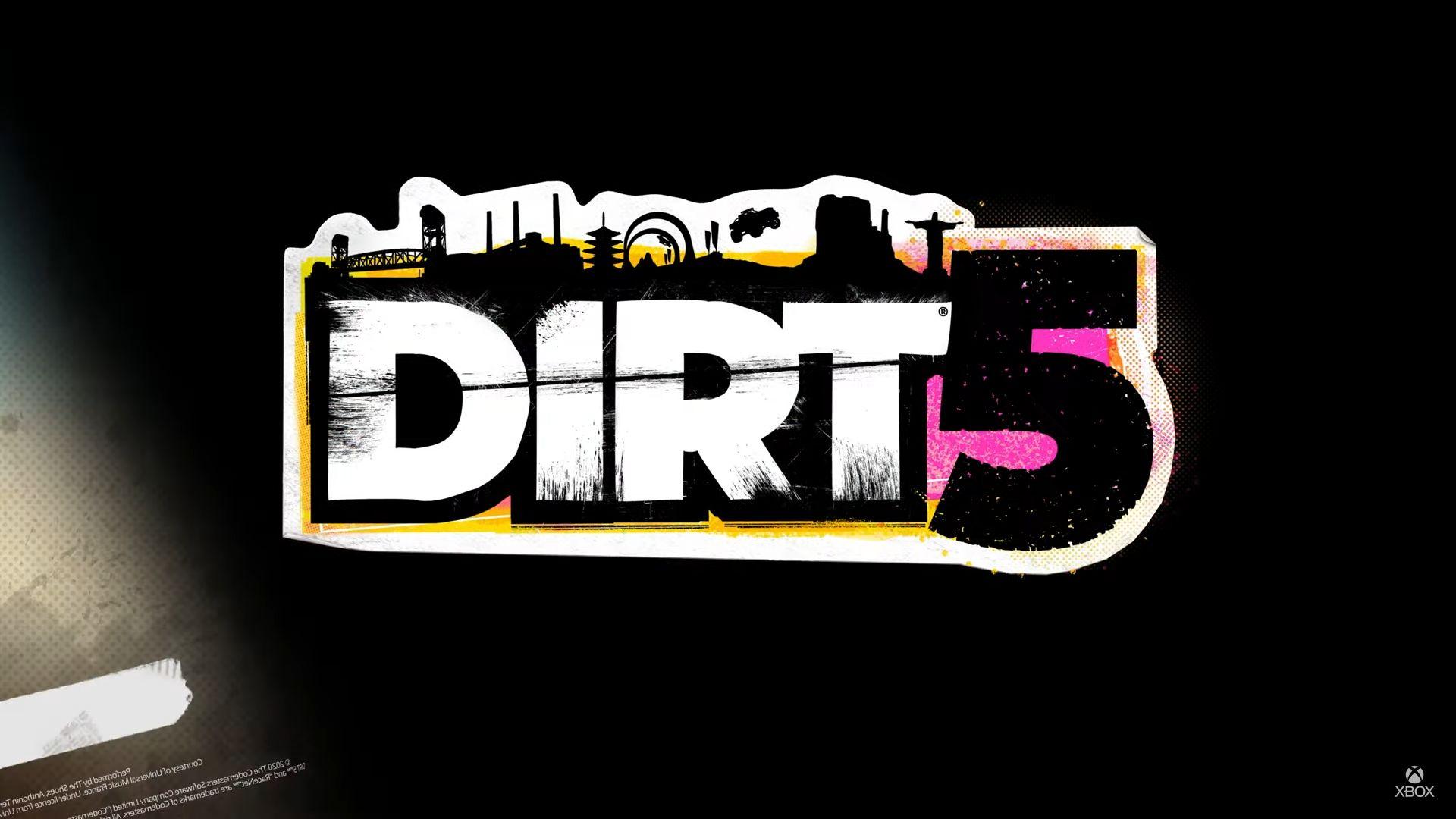 dirt 5, Dirt 5 – Annuncio per next-gen