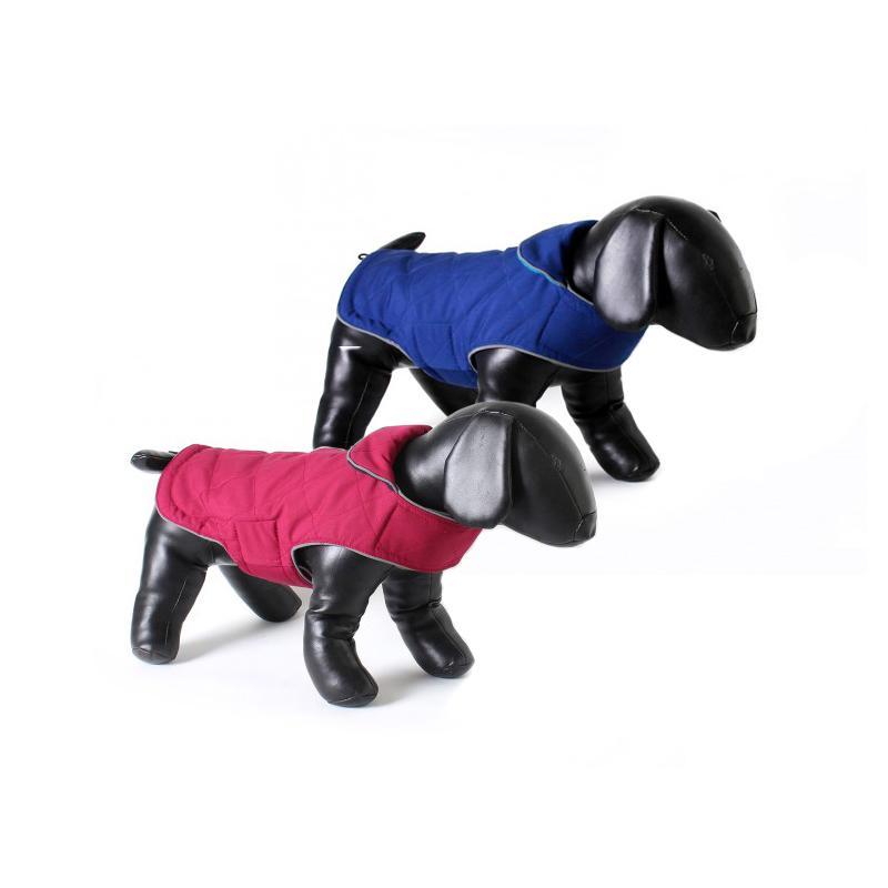 Beide Farben der Tweedy-Hundejacke von Doodlebone®