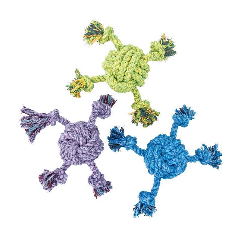 Alle Farben des 4-Wege-Balls in der Größe Kingsize von Happy Pet