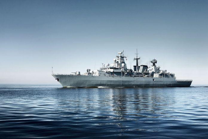 Schiff vom Militär