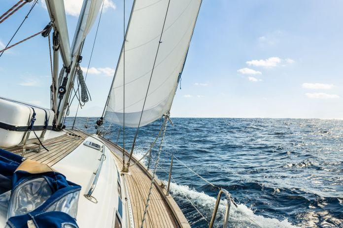 Boot zum segeln