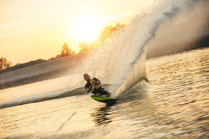 Ski auf dem Wasser