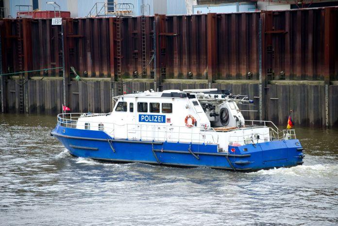 Boot der Polizei