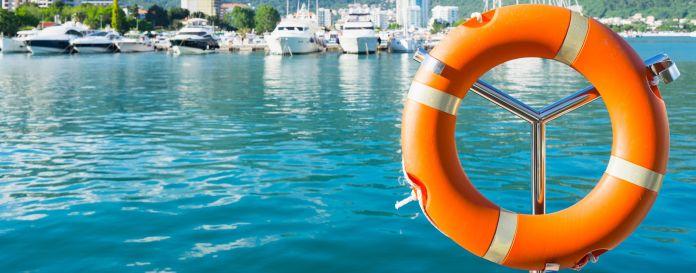 Sicherheit beim Bootsfahren