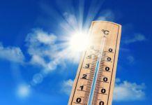 Heißes Wetter